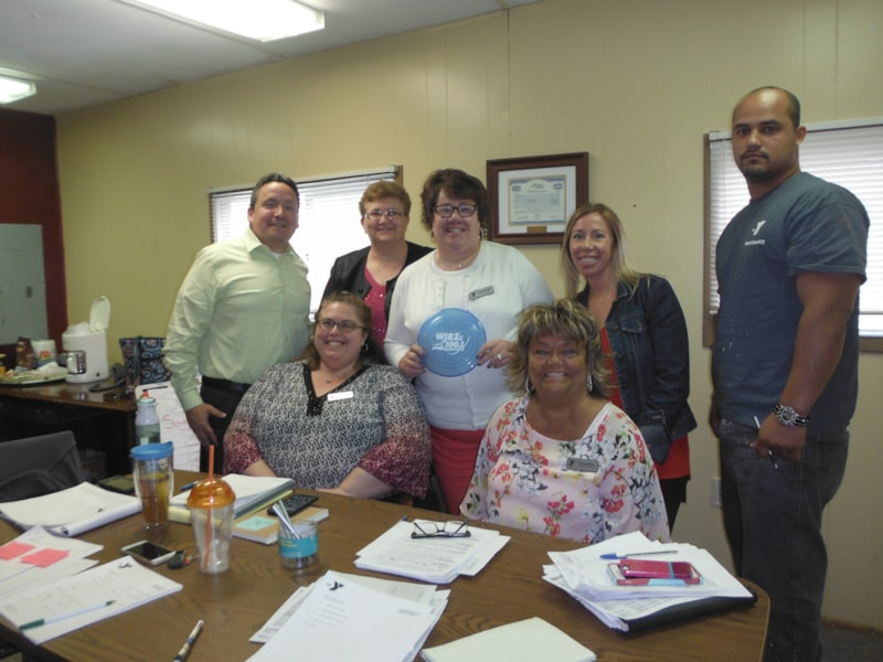 Joann Kermick and crew from the Ocean County YMCA enjoy FREE Lunch from Bum Rogers Crabhouse