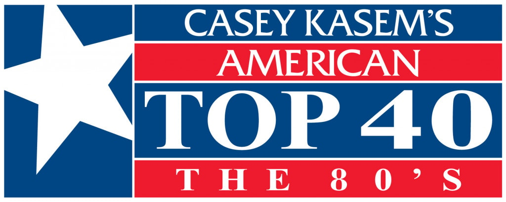 Casey Kasem AT40 80s Logo