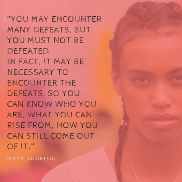 When we're struggling, sometimes hearing strong words from other women help to lift us up. These quotes come from influential women like Maya Angelou, Tori Birch, and even Beyonce. Save them, and even share them, and help bring some inspiration to other's lives, especially during Breast Cancer Awareness Month.  Amy Cooper tries to tug…