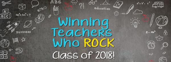 1001 Wjrzs Teachers Who Rock Class Of 2018
