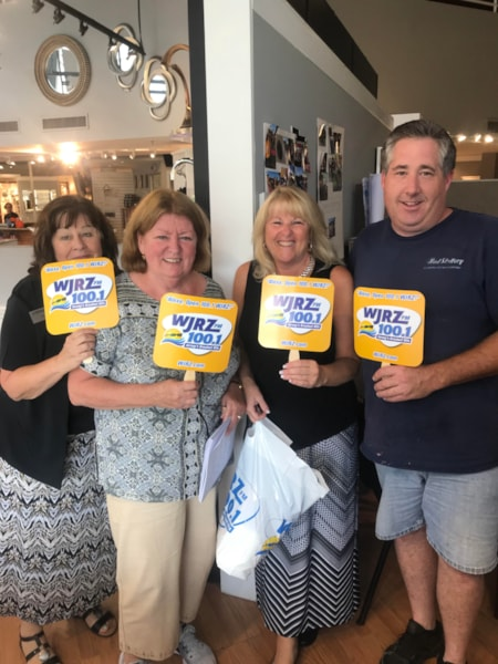 "100.1 WJRZ is Jersey's station with the ""No-Repeat Guarantee For Your Workday"", and we want to come to YOUR office to say ""thanks"" for listening at work. Don't worry, we won't come empty handed! Let's make your office a stop on the 'JRZ Jersey Shore Office Tour! Sign up for a chance to have the…"