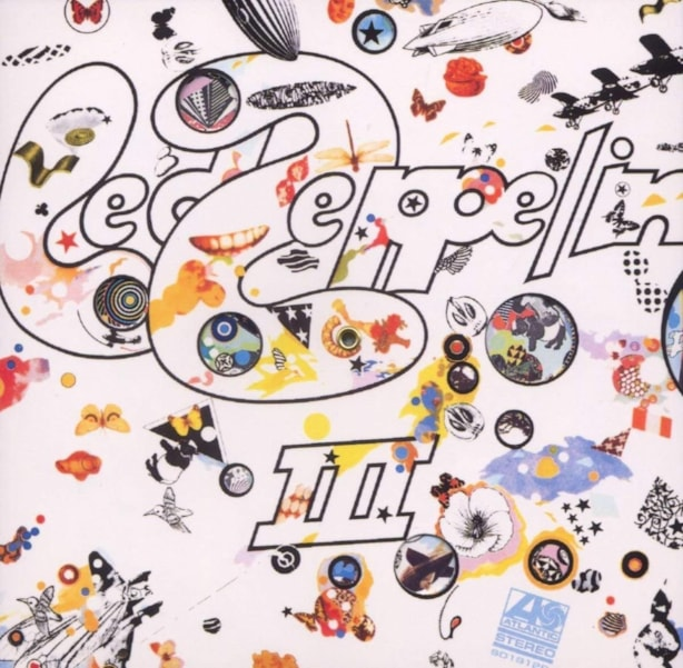 "An undeniable, incredible groove, ""Friends"" served as the first acoustic taste on the mostly unplugged 'Led Zeppelin III' (""Immigrant Song"" opens the album, ""Friends"" is track two). The John Paul Jones-arranged string section on the track takes things to a whole new level of sublime. (EB)"