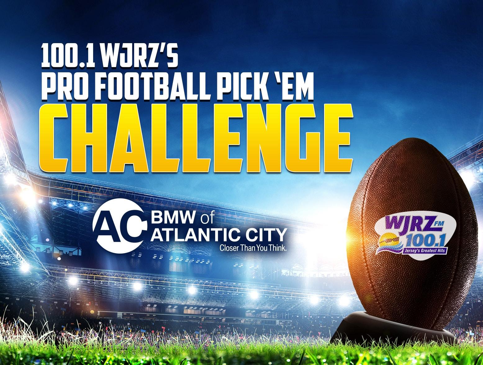WJRZ's Pro Football Pick 'Em Challenge