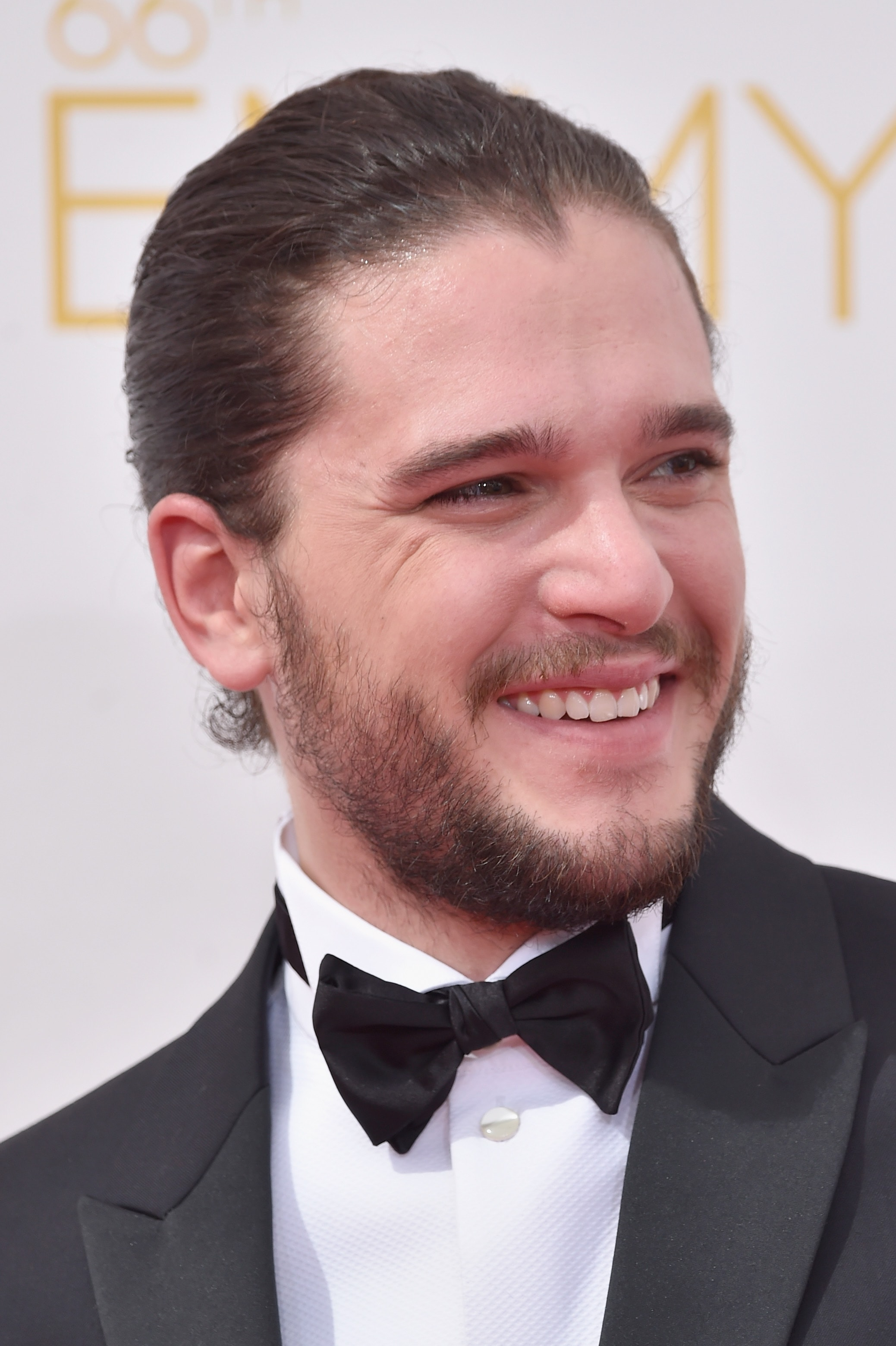 LOS ANGELES, CA - AUGUST 25:  Actor Kit Harington attends the 66th Annual Primetime Emmy Awards held at Nokia Theatre L.A. Live on August 25, 2014 in Los Angeles, California.  (Photo by Frazer Harrison/Getty Images)